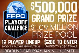 FFPC Playoff Challenge Strategy